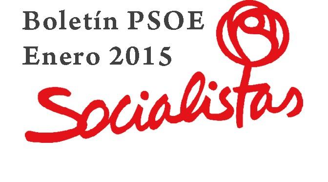 Boletín PSOE – Enero 2015
