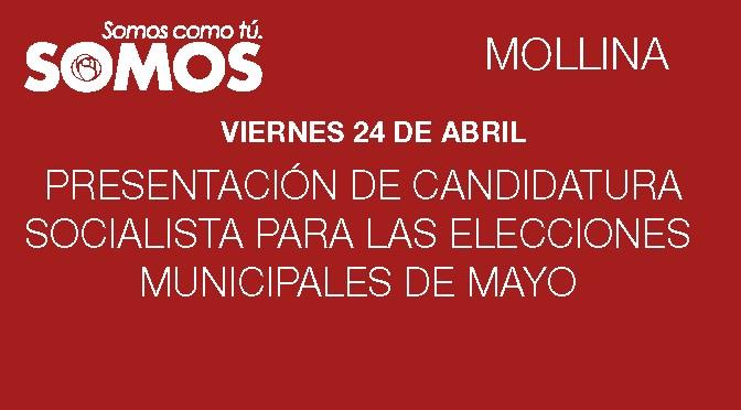 Presentación de Candidatura Socialista de Mollina